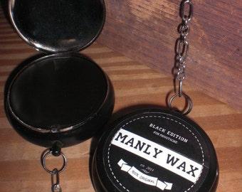 Manly Club BLACK moustache wax