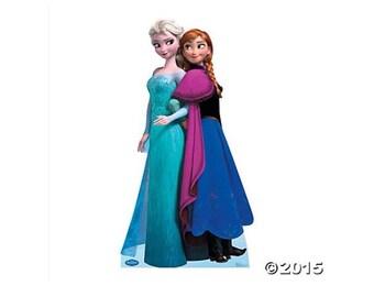 "Anna & else life size cardboard 37"" x 70"""