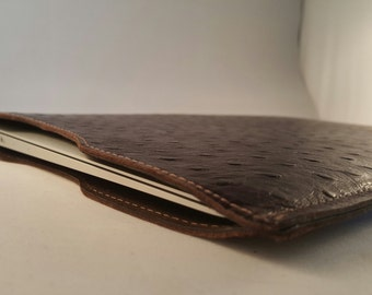 "DORNEY Premium Leather and Suede-Lined Macbook Air Laptop Sleeve 11"" 12"" 13"""