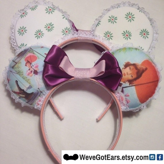 Haunted Mansion Tightrope Girl - Handmade Mouse Ears - Mickey Ears