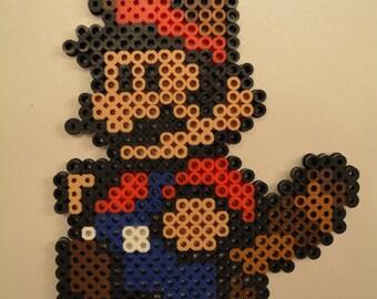 Mario Tanooki Super Mario Perler Design