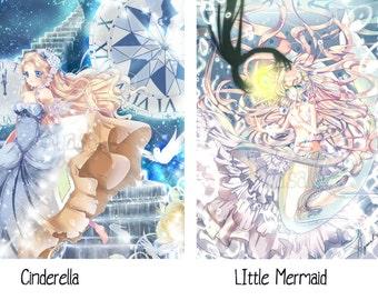 FULL SET Grimm Fairy-Tale [Small Prints]