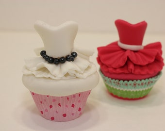 Ballerina,Tutu,Princess,Dancer edible cupcake toppers