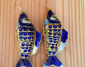 Colorful Fish Earrings