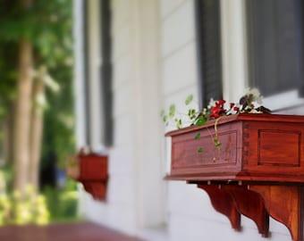 Wood Flower Box, Window Box Planter