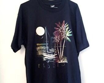 Metallic print FLORIDA (XL) t-shirt