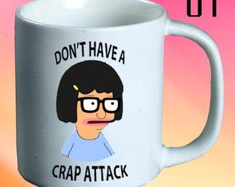 Tina Belcher Mug - Tina Belcher Coffee Mug - Tina Belcher Tea Mug