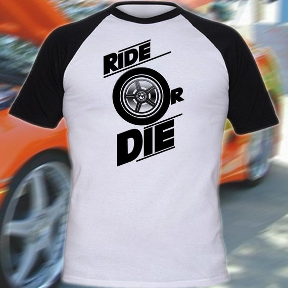 Furious 7 Fast And Furious Inspired T Shirt Ride By