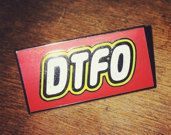 DTFO Hat Pin