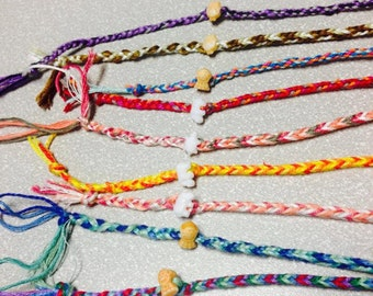 Stackable Woven Friendship Bands