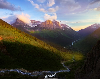 Breathless, glacier, glacier national park, montana, wall art, landscape, photography, photo, nature, photo, print,