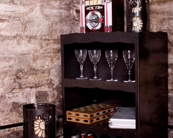Freestanding Wine Rack and Display Unit