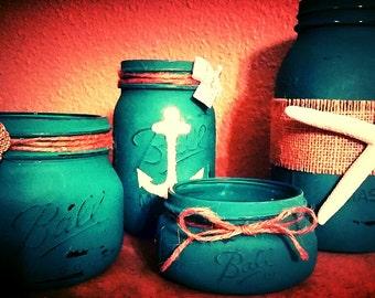 Mason Jars: By the Sea