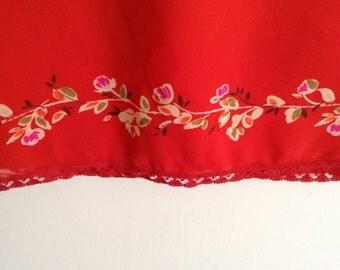 Vintage Silk Ann Taylor Skirt
