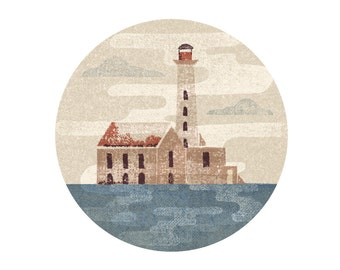 Abandoned Lighthouse Print