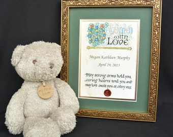 Customized Baby Blessing-Welcomed with Love
