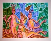 Les Singes de Mer (Sea Monkeys) (Original)