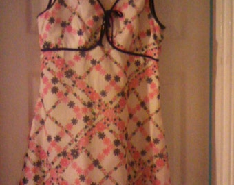 Betty Barclay dress true vinatge 1960s size 8