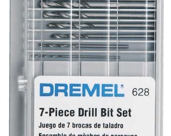 Dremel 7-Piece Drill Bit Set p/n 628