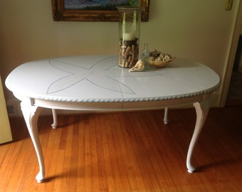 Hand-painted Dining Table