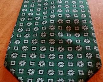 Clip on vintage necktie