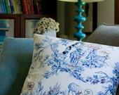 Tag a Toile Pillow DIY Kit