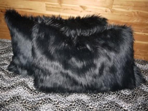 Plush Faux Fur Shag Pillow