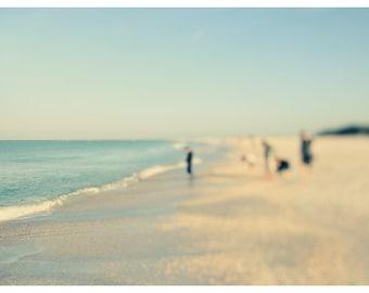 Fine Art Photograph - Beach Photography - Nature Photography - Lido In Blue #1 - Florida Art - Landscape - Summer- Fine Art Photo - Oversize