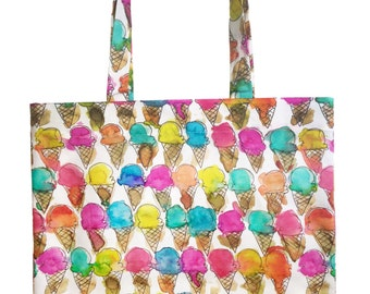 Ice Cream Cone Tote