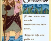 Saint Christopher Print
