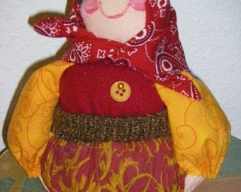 Babooshka Pincushion Doll-Lyuba