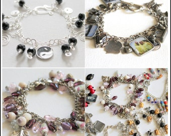 How to Make Charm Bracelets PDF eBook - Step-by-Step from the Chain to the Charms