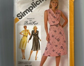 Simplicity Misses' Dress Pattern 9956