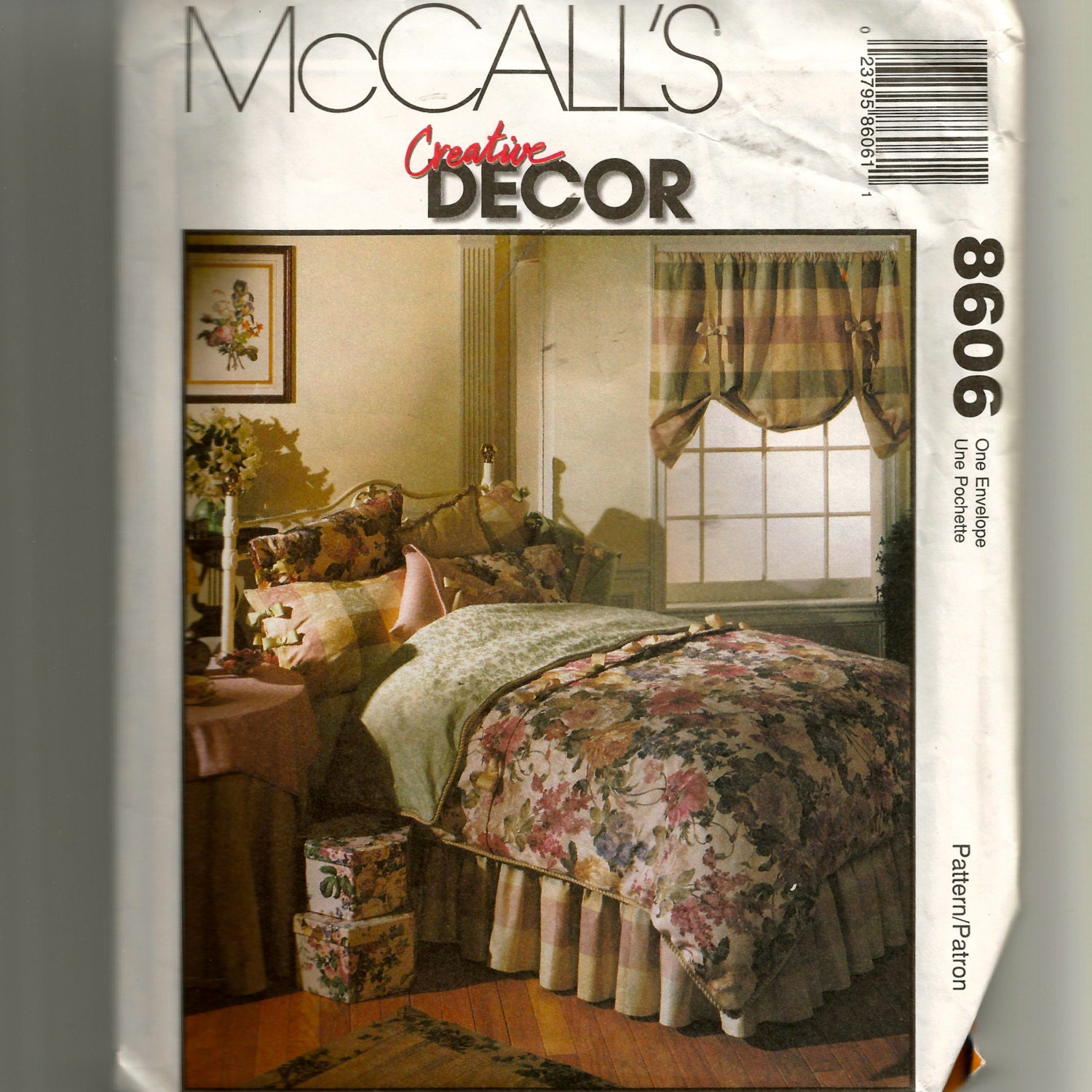 Mccall 39 s bedroom essentials pattern 8606 for Bedroom necessities