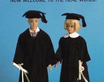 RARE Unused Vintage 1990 Barbie Graduation Postcard American Postard Co. (Barbie06)
