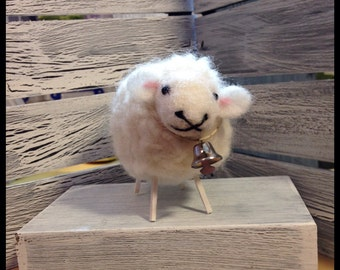 Sophie the Needle Felted Sheep