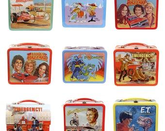 Retro Lunchbox Magnet - Dukes of Hazzard, Dynomutt, Dudley Do-Right, E.T., Evel Kneivel, Emergency, Dragstrip, Vintage TV Cartoons