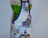 Lighthouse Sea Ocean Decor Dish Soap Bottle Apron Cover Party Favor Staffer Lg