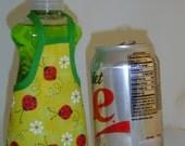 Ladybug Dish Soap Bottle Apron Cover Kitchen Decor Small