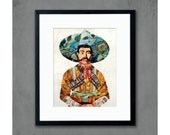 Señor Male Portrait Art Print