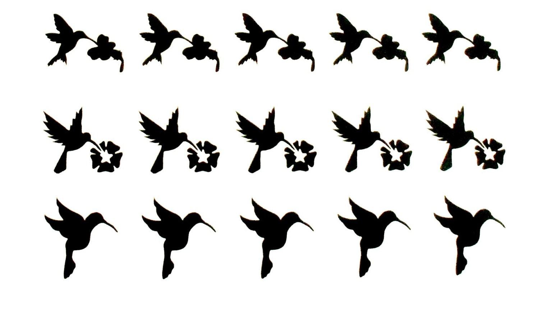 dichroic fused glass etching stencils vinyl hummingbird u0026 flower