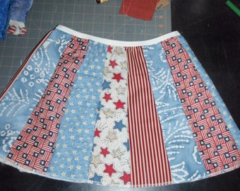 Strip Skirts - Little Girls  6 - 10