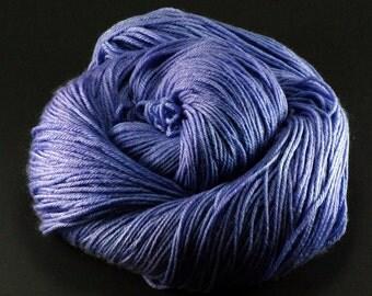 Hand dyed Merino Cashmere Sock Yarn - Lovely Lavender