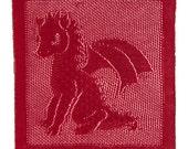 Baby Dragon Blanket Pattern (PDF)