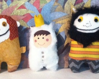 Where the Wild Things Are Group of Three