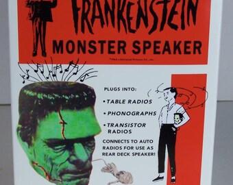 Reproduction 1964 Frankenstein Monster Speaker BOX ONLY