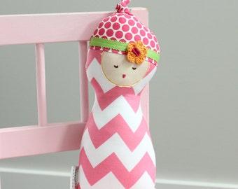 MINI Baby Doll stuffed rag doll first birthday gift kids kid girl baby soft cloth toy fabric soft cute sweet stuffed modern ready to ship