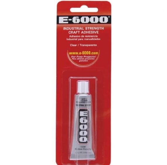 E 6000 Adhesive All Purpose Craft Glue 0 18 Oz 5 Oz