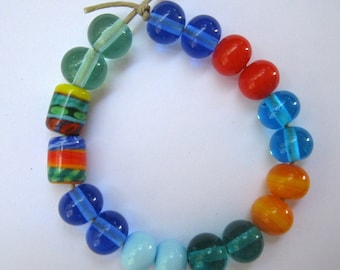 Lampwork Bead Pairs Perfect for Earrings