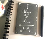 Things to do Moleskine Squared Notebook